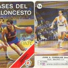 Mazzi di carte: (CAR-8)BARAJA H.FOURNIER ASES DEL BALONCESTO (COMPLETA) AÑO 1985. Lote 31294455