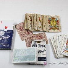 Barajas de cartas: LOTE DE 4 BARAJAS DE CARTAS. 3 BARAJAS ESPAÑOLAS Y UNA DE POKER.. Lote 43639889