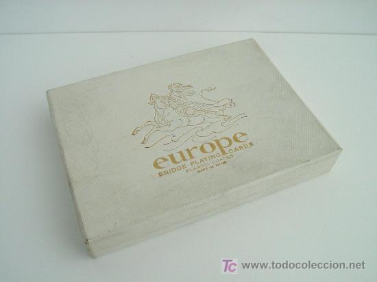NAIPES EUROPE DE FORNIER (Juguetes y Juegos - Cartas y Naipes - Barajas de Póker)