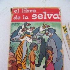 Barajas de cartas: BARAJA WALT DISNEY: EL LIBRO DE LA SELVA (FOURNIER), AÑOS 60. Lote 22848244