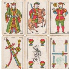 Barajas de cartas: BARAJA EL TITI DE HERACLIO FOURNIER, TIMBRE DE 1,50 PTA., 40 NAIPES. Lote 6625224