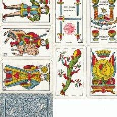 Barajas de cartas: BARAJA CLASICA CON 48 NAIPES FABRICANTE JUAN ROURA, HISPANO-AMERICANA, TIMBRE 1,50 PTA.. Lote 6630580