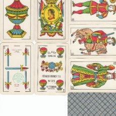 Barajas de cartas: BARAJA CLASICA CON 48 NAIPES FABRICANTE HERACLIO FOURNIER, TIMBRE 1,50 PTA.. Lote 6630887