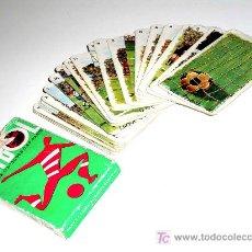 Barajas de cartas: BARAJA DE CARTAS DE FÚTBOL, 31 CARTAS, COMPLETA . CAJA REGULAR.. Lote 13314283