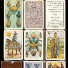 Barajas de cartas: NAIPE HISTÓRICO IBERO AMERICANO. VDA. Y HS. DE H. FOURNIER. 40 CARTAS. AÑO 1929. BUENA CONSERVACIÓN. Lote 27484582