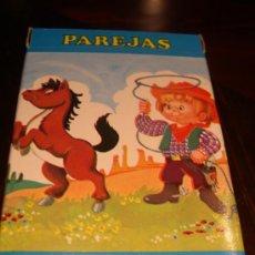 Barajas de cartas: BARAJA PAREJAS DEL MUNDO AÑO 1972. Lote 162791698