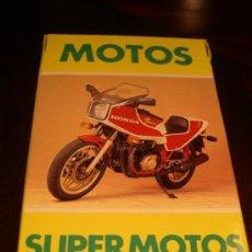 Mazzi di carte: BARAJA MOTOS - AÑOS 80 SIN EXTRENAR. Lote 240570105