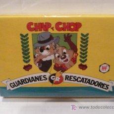 Baralhos de cartas: BARAJA DE CHIP Y CHOP GUARDIANES RESCATADORES AÑO 1991. Lote 65817226