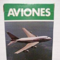 Barajas de cartas: BARAJA AVIONES AÑO 1986. Lote 171549143