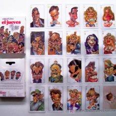 Barajas de cartas: BARAJA CARICATURAS EL JUEVES¡¡¡¡ NOVEDAD, PLAYING CARDS, CARTES DA GIOCO. Lote 7120995