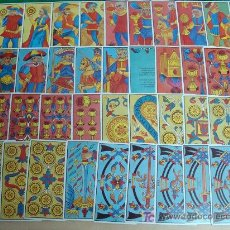 Barajas de cartas: BARAJA DE TAROT. FOURNIER. 56 NAIPES. REY REINA CABALLO SOTA. EN FRANCÉS. . Lote 7405065
