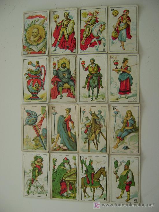 BARAJA DE 48 CARTAS DON QUIJOTE (Juguetes y Juegos - Cartas y Naipes - Baraja Española)