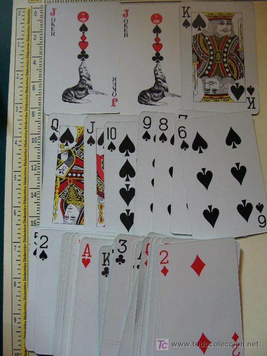 Barajas de cartas: 2 BARAJAS DE PÓKER. MARCA FAIRY. PERFECTAS. 54 NAIPES. NUNCA USADA. - Foto 3 - 7886583