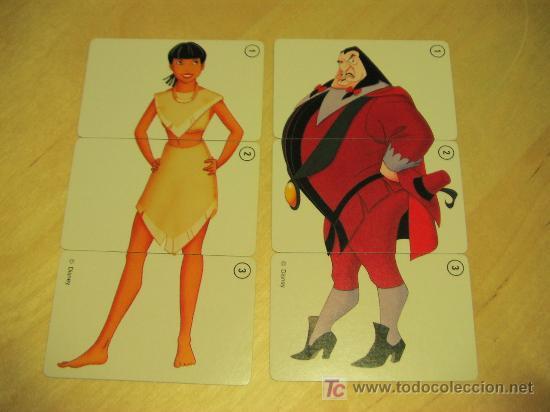 Barajas de cartas: POCAHONTAS. baraja de cartas. DISNEY. fournier. - - Foto 2 - 7901257