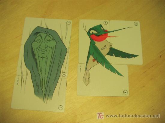 Barajas de cartas: POCAHONTAS. baraja de cartas. DISNEY. fournier. - - Foto 6 - 7901257