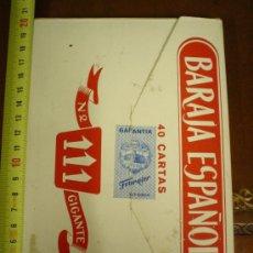 Barajas de cartas: BARAJA GIGANTE H.FOURNIER.. Lote 27026267
