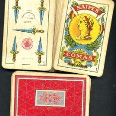 Barajas de cartas: BARAJA CLASICA NAIPES COMAS, 48 NAIPES , ANTIGUA. Lote 152717310