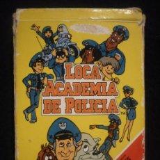 Barajas de cartas: LA LOCA ACADEMAI DE POLICIA. 42 CARTAS. FOURNIER. 1990.. Lote 22734547