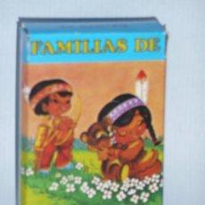 Jeux de cartes: BARAJA SIETE FAMILIAS. Lote 8036925
