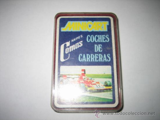 MINICART COCHES DE CARRERAS NAIPES COMAS (Juguetes y Juegos - Cartas y Naipes - Barajas Infantiles)