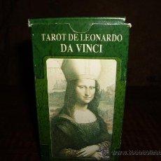 Barajas de cartas: TAROT DELEONARDO DA VINCI. Lote 27435560