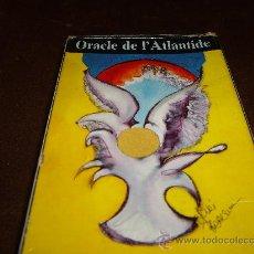 Barajas de cartas: TAROT ORACLE DE L´ATLANTIDE. Lote 27435559