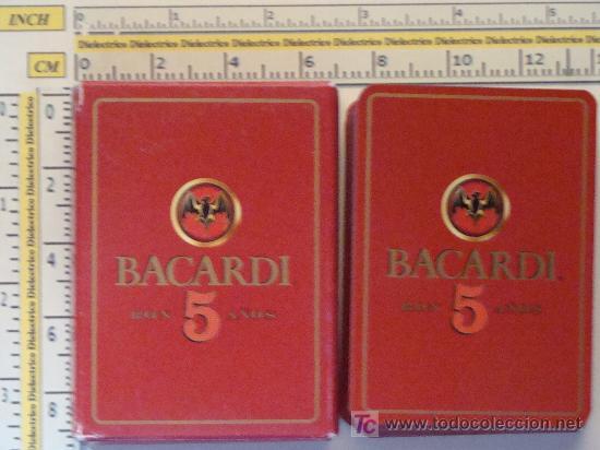 BARAJA DE CARTAS DE POKER. BACARDI RON 5 AÑOS. 54 NAIPES. . (Juguetes y Juegos - Cartas y Naipes - Otras Barajas)