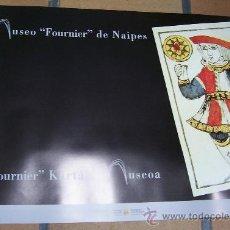 Barajas de cartas: CARTEL BARAJA MUSEO FOURNIER DE NAIPES . Lote 12732576