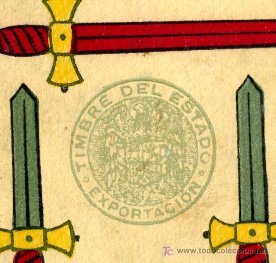 Barajas de cartas: BARAJA JUAN ROURA , HISPANO AMERICANA , LA LOBA , COMPLETA 48 NAIPES , EXPORTACION , MUY ANTIGUA - Foto 2 - 26907491