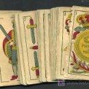 Barajas de cartas: BARAJA JUAN ROURA , HISPANO AMERICANA , LA LOBA , COMPLETA 48 NAIPES , EXPORTACION , MUY ANTIGUA. Lote 26907491