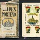 Barajas de cartas: BARAJA ANTIGUA , NAIPES PORTEÑO, BUENOS AIRES ARGENTINA, ORIGINAL CON PRECINTO NUEVA. Lote 27498863
