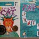 Barajas de cartas: BARAJA INFANTIL. DE ESTADOS UNIDOS. RAT A TAT CAT. 55 CARTAS CON INSTRUCCIONES. PRECINTADA. . Lote 9117795
