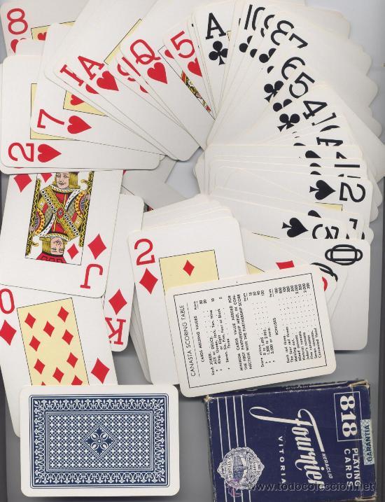 BARAJA CARTAS POKER - 818 FOURNIER (Juguetes y Juegos - Cartas y Naipes - Barajas de Póker)