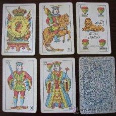 Barajas de cartas: BARAJA DE NAIPES ANTIGUA COMAS.BARCELONA. Lote 27286360