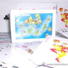 Barajas de cartas: BARAJAS CARTAS DE POKER DIBUJO ISLAS CANARIAS . BARATA. Lote 9371581