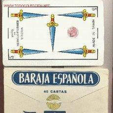 Barajas de cartas: BARAJA ESPAÑOLA Nº 111 GIGANTE DE HERACLIO FOURNIER. Lote 1038044