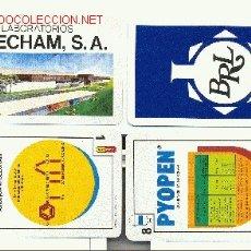 Barajas de cartas: HERACLIO FOURNIER,S.A PUBLICITARIA: LABORATORIOS BEECHAM,S.A. Lote 1047836