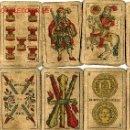 Barajas de cartas: BARAJA DE CARTAS- SEGUNDO OLEA,FABRICA DE NAIPES FINOS,CADIZ,AÑO 1912,USADAS E INCOMPLETA. Lote 12717498