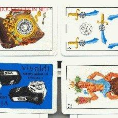 Barajas de cartas: BARAJA PUBLICITARIA: PHILIPS 1972. 40 CARTAS. Lote 1095358