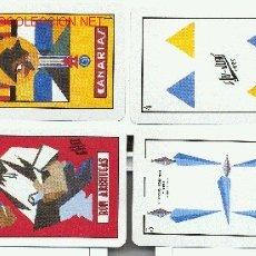 Barajas de cartas: HERACLIO FOURNIER,S.A. BARAJA CANARIA-RON AREHUCAS. Lote 1095449