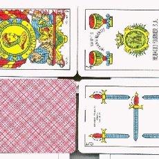 Barajas de cartas: BARAJA H.FOURNIER NAIPES INTRANSPARENTES Nº35 1968. Lote 1138990