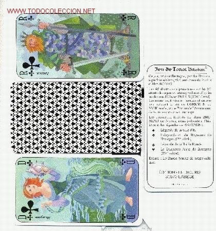 TAROT BRETON (Juguetes y Juegos - Cartas y Naipes - Barajas Tarot)