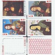 Barajas de cartas: NAIPES COMAS: PUBLICITARIA: VELMONIT.. Lote 1159826
