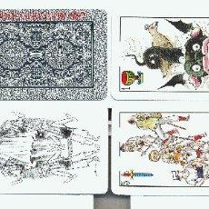 Barajas de cartas: HERACLIO FOURNIER. PUBLICITARIA: FESTA MAJOR VILAFRANCA.1988. Lote 1048698