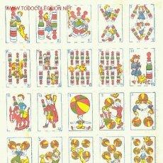 Barajas de cartas: JUEGO DE NAIPES CÓMICOS. Lote 1462797