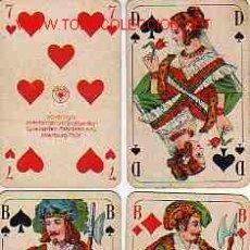 Barajas de cartas: ANTIGUA BARAJA DE POKER. Lote 15968298