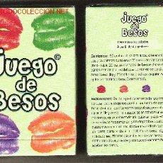 Barajas de cartas: BARAJA DE NAIPES EL JUEGO DE LOS BESOS 1, 80 CARTAS, AGOTADA. PRECINTADA.. Lote 30860795
