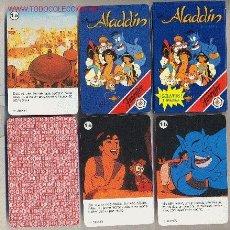 Barajas de cartas: ALADDÍN - HERACLIO FOURNIER, S.A - 1993- Nº CARTAS : 32 + 1 CARTA-TARJETA CON REGLAMENTO JUEGO. Lote 32426050
