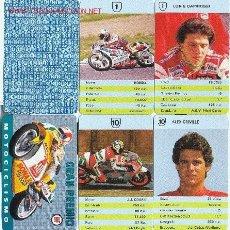 Barajas de cartas: GRAN PREMIO MOTOCICLISMO- HERACLIO FOURNIER - 1991 - 32 CARTAS + 1 CARTA CON REGLAMENTO. Lote 2507861