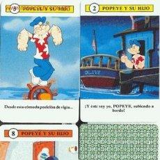 Barajas de cartas: POPEYE Y SU HIJO - H.FOURNIER - 32 CARTAS + 1 CARTA-TARJETA CON REGLAMENTO DEL JUEGO. Lote 2548458